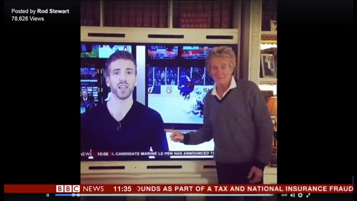 BBC broadcaster Tim Hague